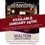 2016 Directory @ Walton United Church, Oakville, Ontario