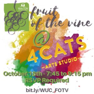 fruit of the vine - painting night @ Walton United Church, Oakville, Ontario