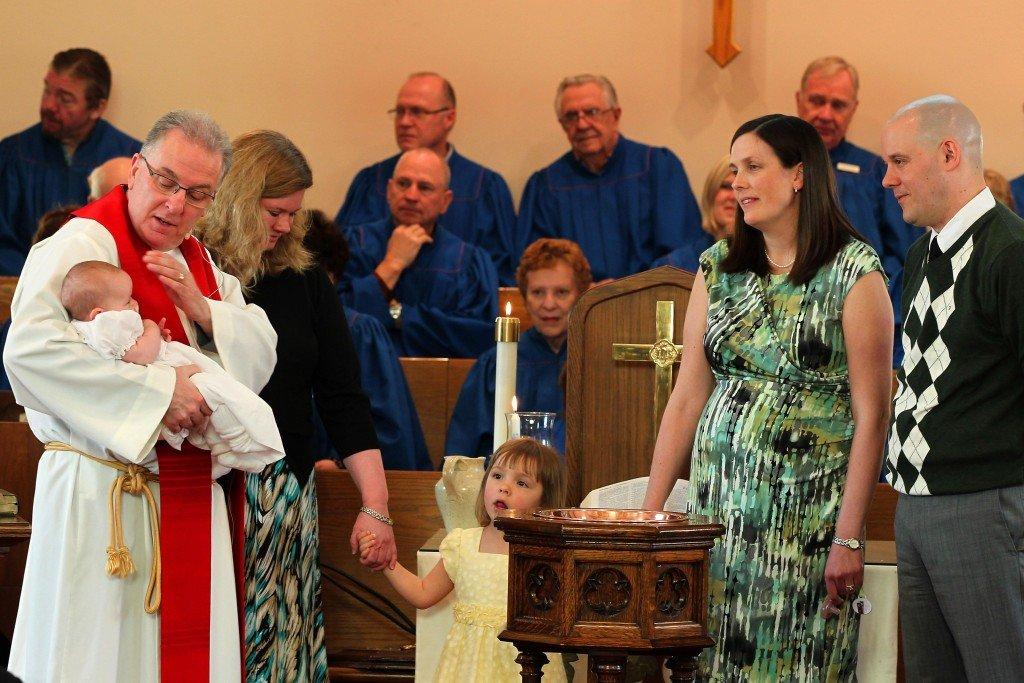 Baptism @ Walton United Church, Oakville, Ontario