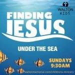 Finding Jesus Sunday School @ Walton United Church, Oakville, Ontario