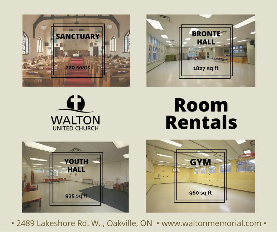 Room Rentals @ Walton United Church
