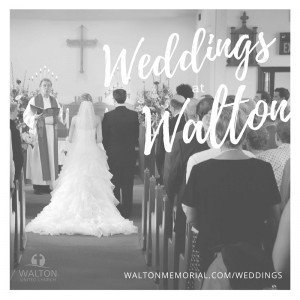Weddings @ Walton United Church