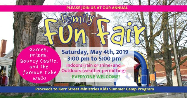 Fun Fair @ Walton United Church Oakville Ontario