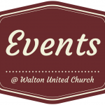 Events @ Walton United Church