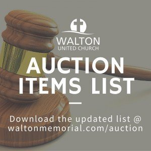 Auction List @ Walton United Church