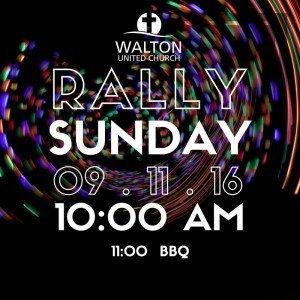 Rally Sunday 2016 @ Walton United Church