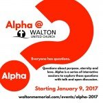 Alpha @ Walton United Church., Oakville, Ontario