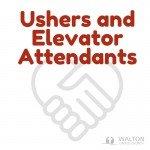 Ushers & Elevator Attendants @ Walton United Church, Oakville, Ontario
