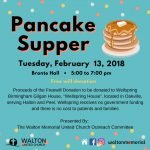 Pancake Supper @ Walton United Church, Oakville, Ontario