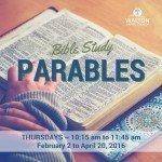 Bible Study - Parables @ Walton United Church, Oakville, Ontario
