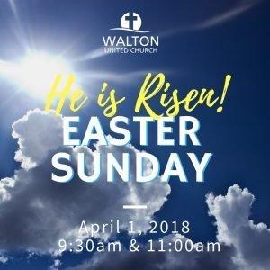 Easter @ Walton United Church, Oakville, Ontario