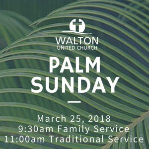 Palm Sunday @ Walton United Church, Oakville, Ontario