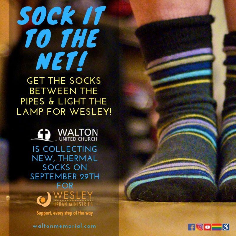 Sock it to the net