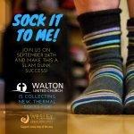 socks it to me @ Walton United Church, Oakville, Ontario