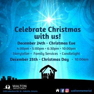 Christmas Eve @ Walton United Church, Oakville, Ontario