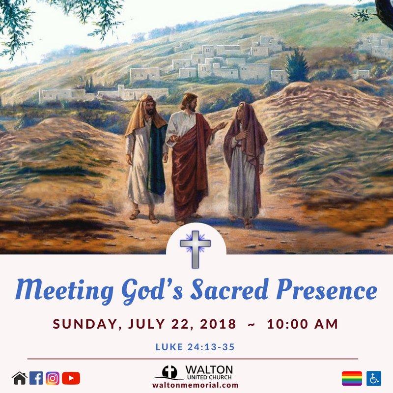 Meeting God's Sacred Presence @ Walton United Church, Oakville, Ontario