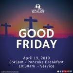 Good Friday Service at Walton United Church, Oakville, Ontario