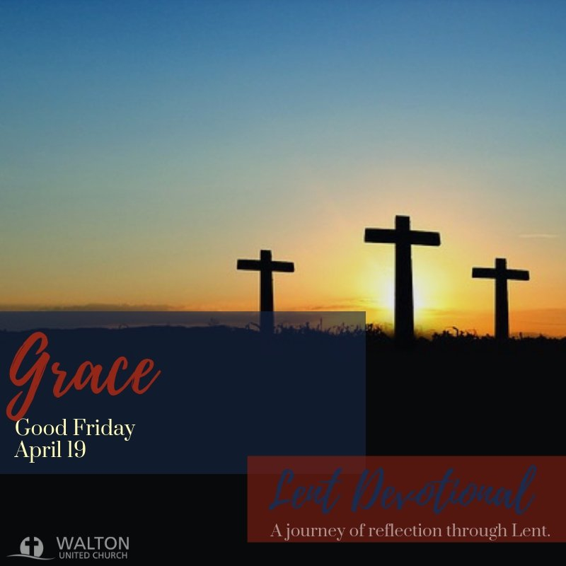 Grace - Lent Devotional