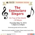 Thursday Social - The Ennisclare Singers